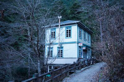 昔檜原村で使われていた郵便局