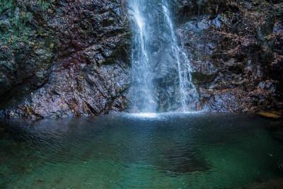 払沢の滝の滝壺